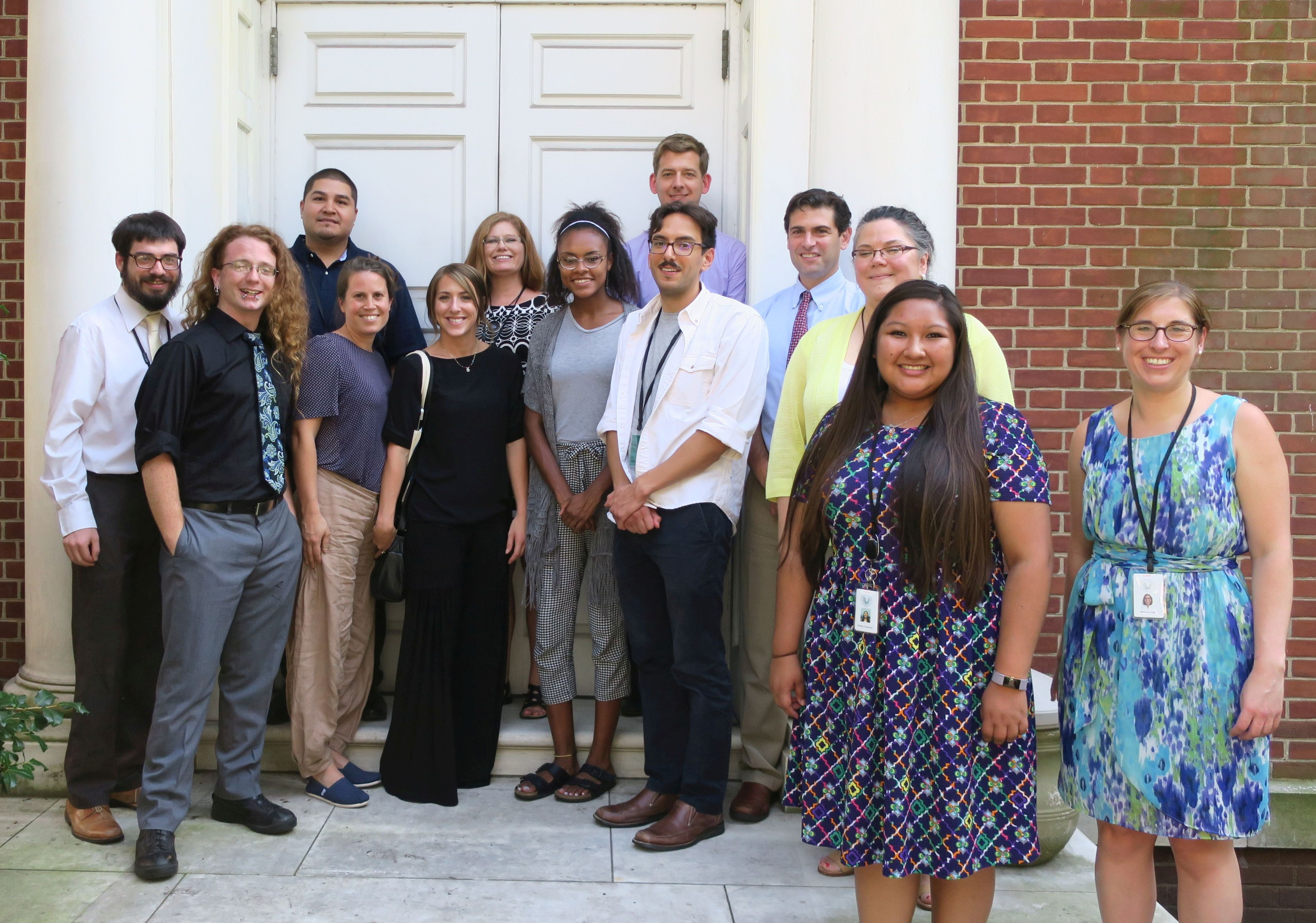 The 2018 Cohort of the Native American Scholars Initiative at the APS Library