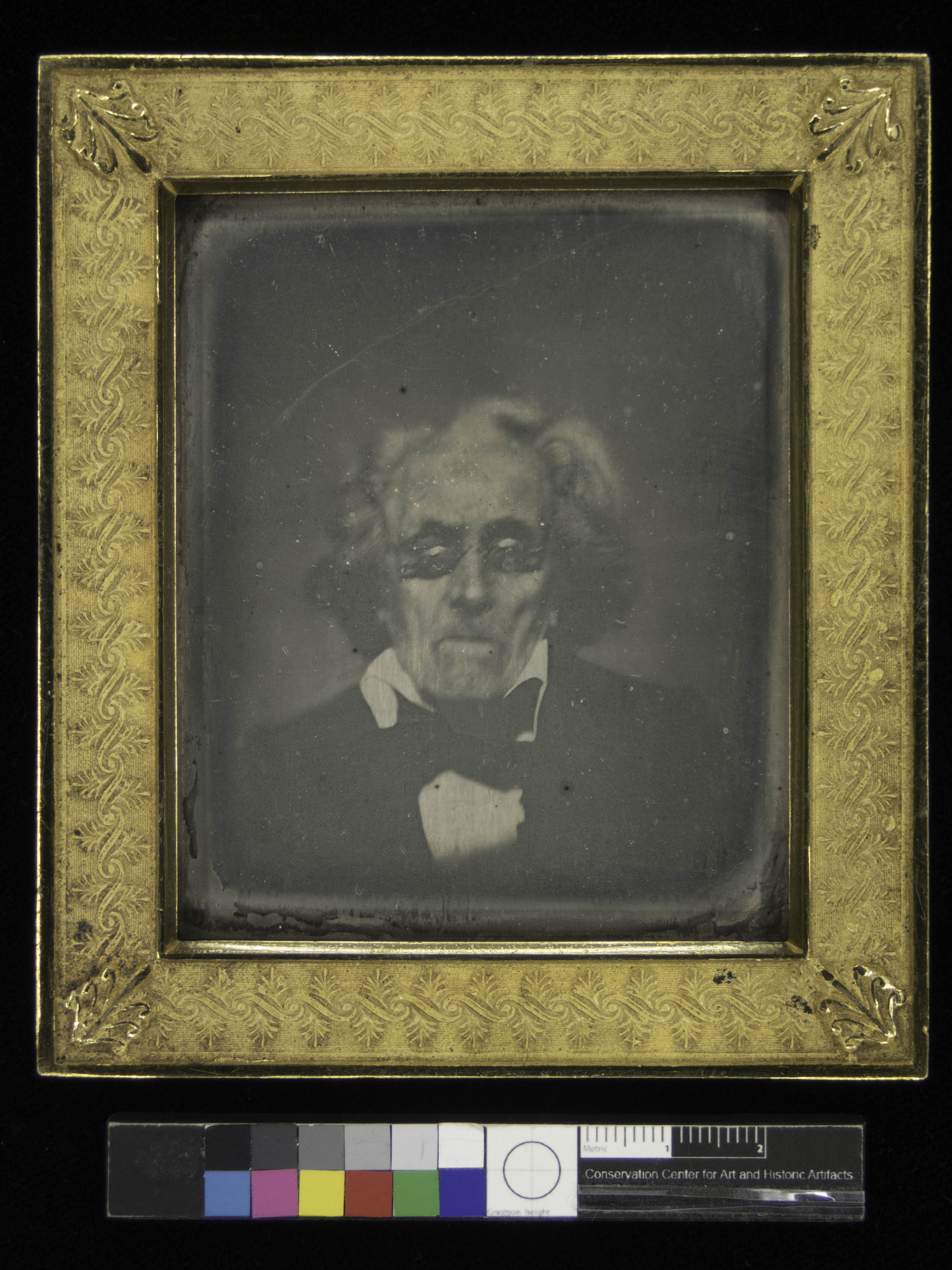 daguerrotype of duponceau