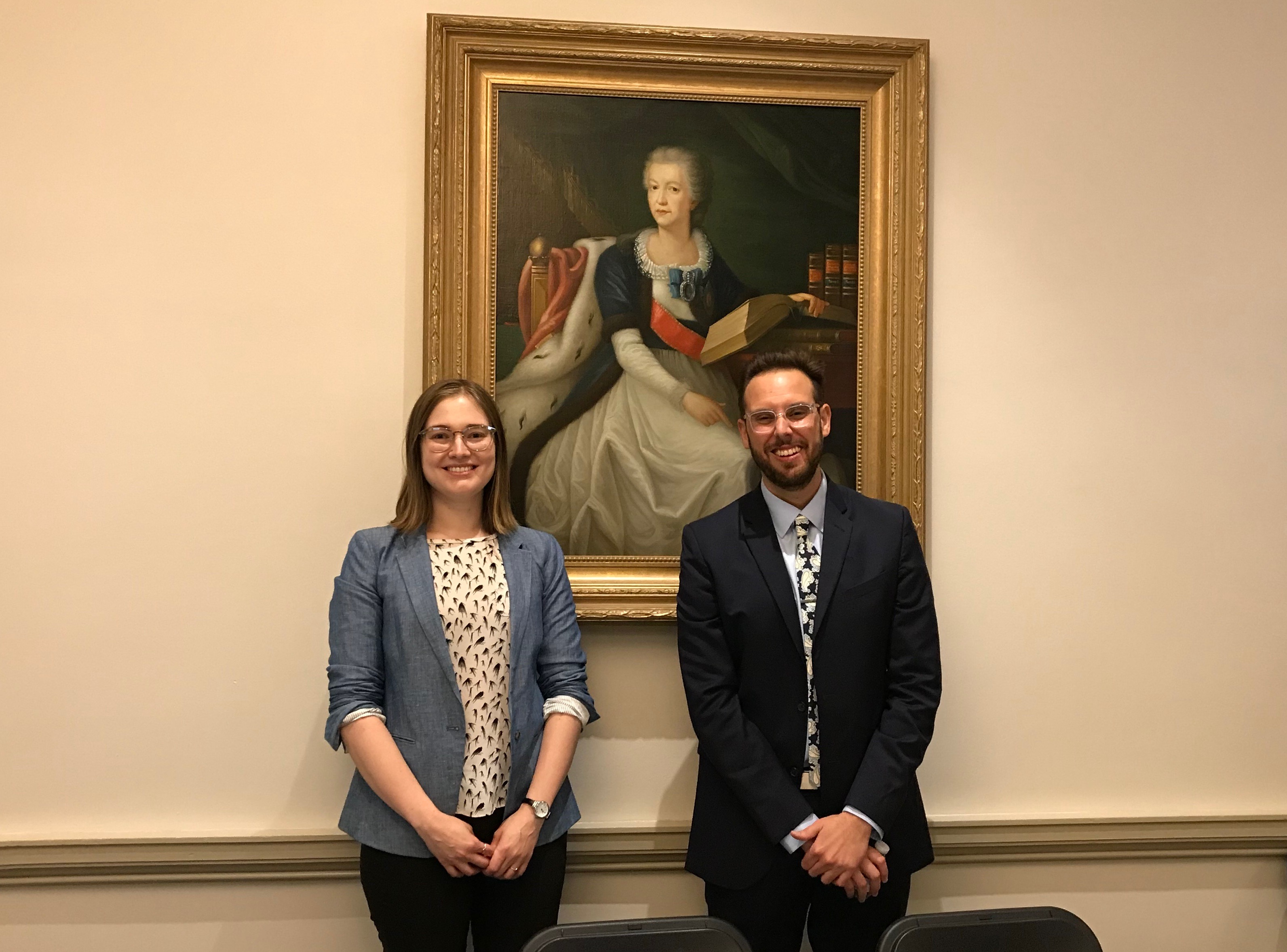 Alexandra Montgomery and Will Fenton, 2016 and 2017 Elizabeth R. Moran Fellows