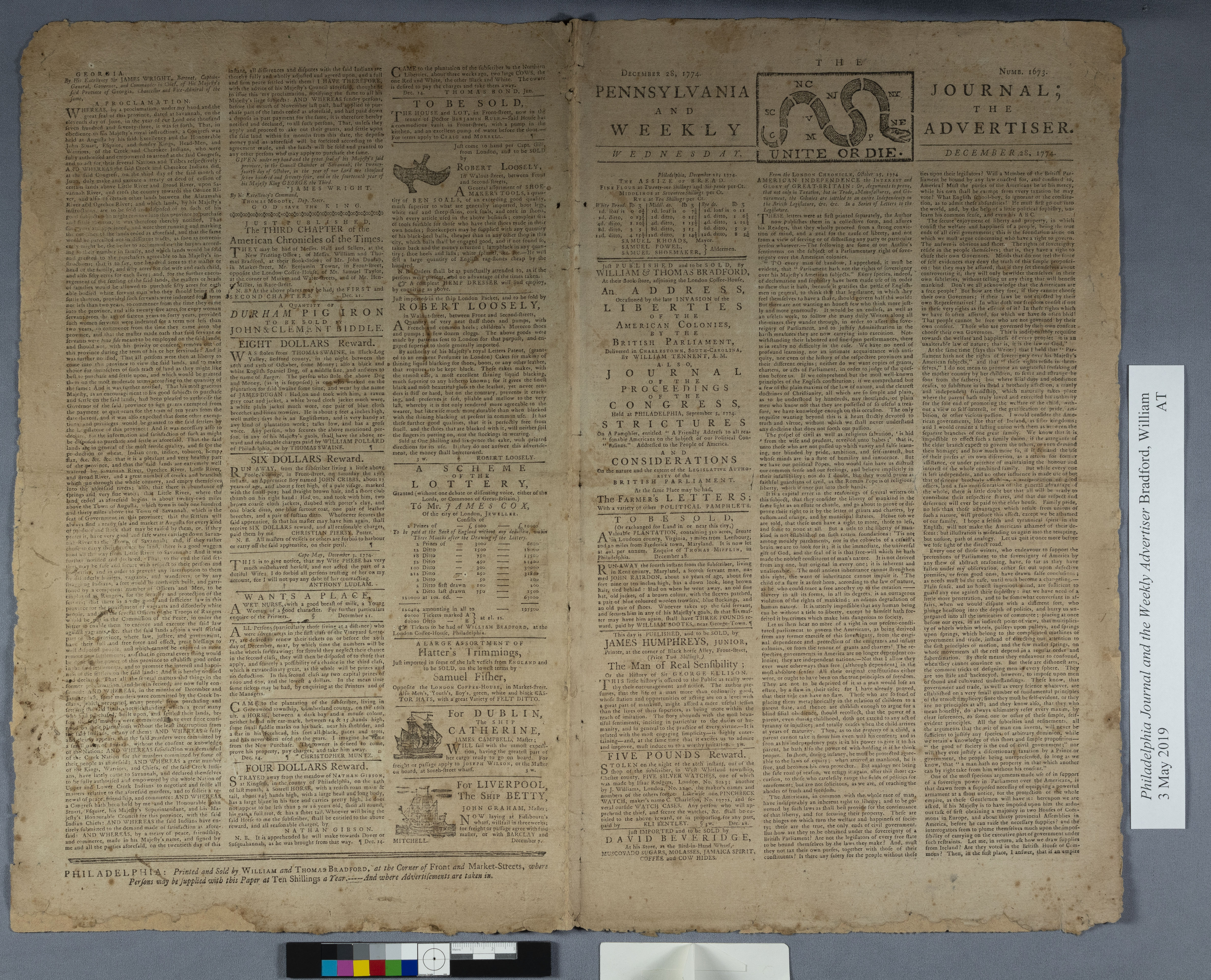 restored newspaper