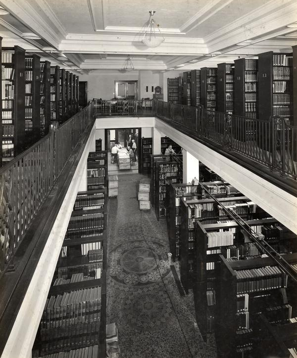 Library at Drexel Hall Building