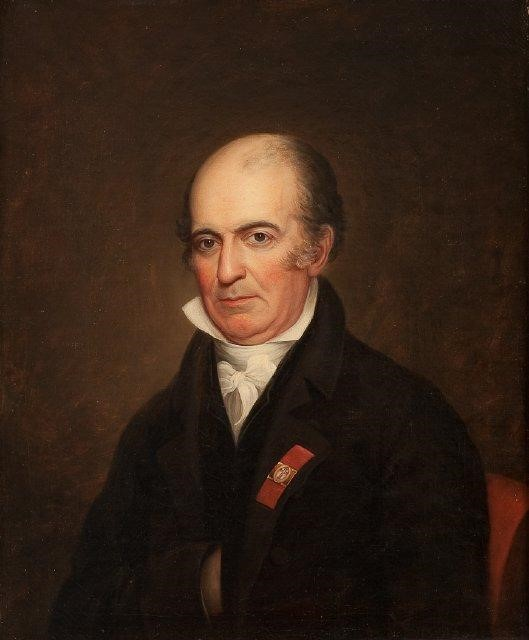 Portrait of José Francisco Corrêa da Serra, Charles B. Lawrence, ca. 1816, American Philosophical Society, Gift of the Pennsylvania Academy of Fine Arts, 20 January 1831, APS Museum, 58.P.46.