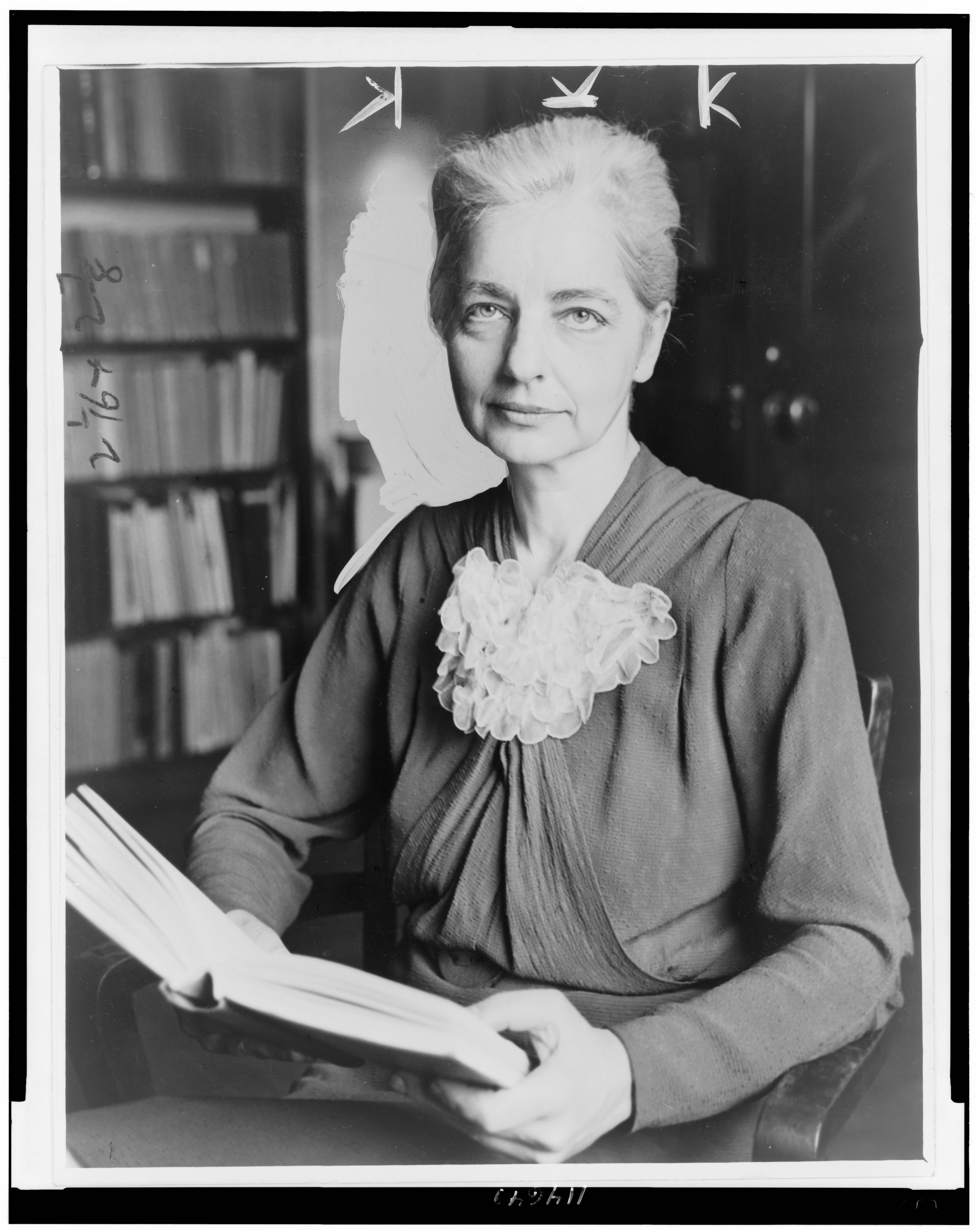 black and white photo of Ruth Benedict