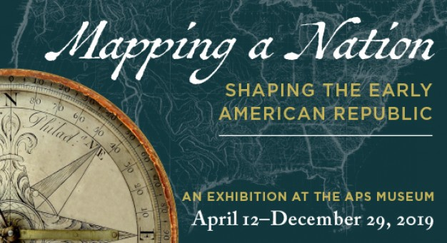 ad for mapping a nation exhibition