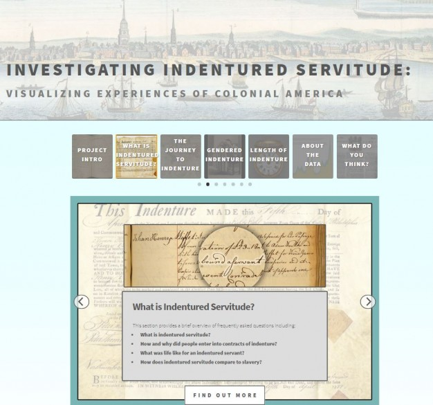 Investigating Servitude Homepage