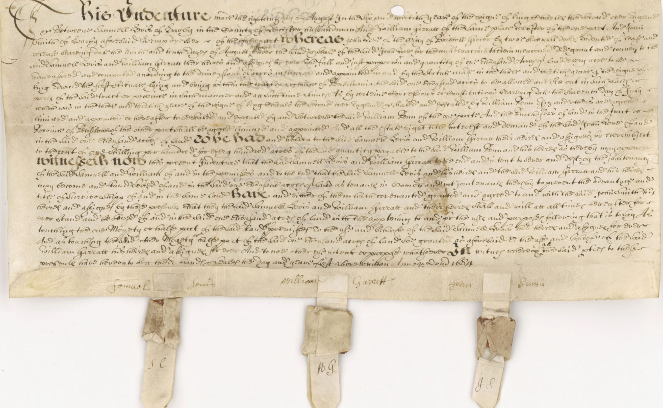 image of a deed