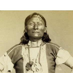 Photograph of Native American man