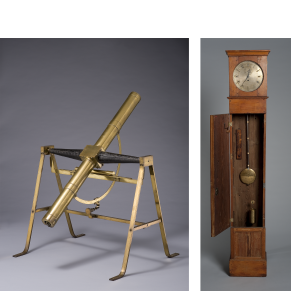 Clock and Telescope