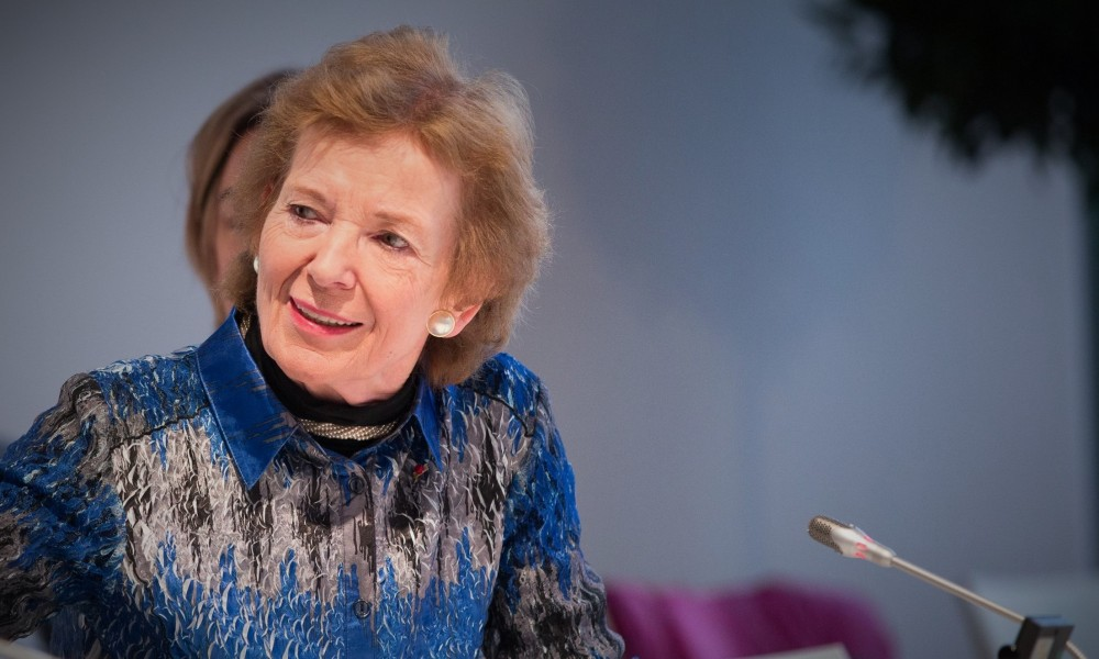 photograph of Mary Robinson