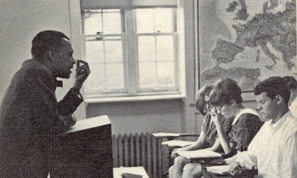 william shedrick willis in classroom