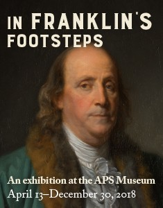 In Franklin's Footsteps Exhibition Logo