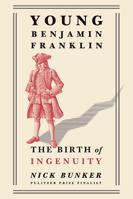 cover of book young benjamin Franklin