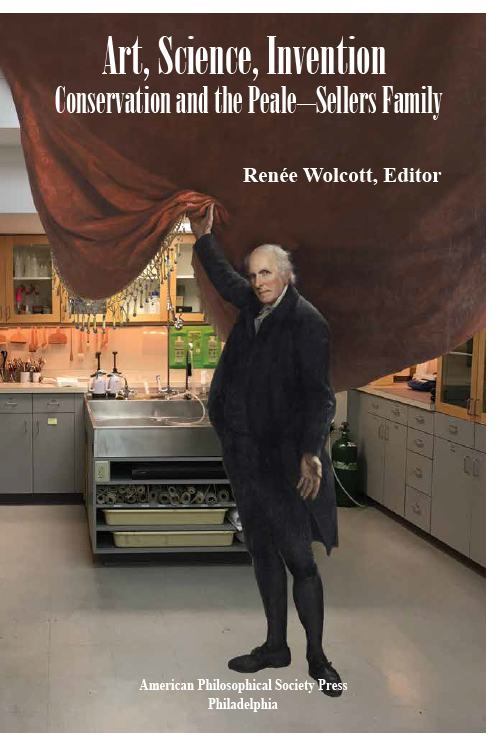 charles willson peale in a conservation lab