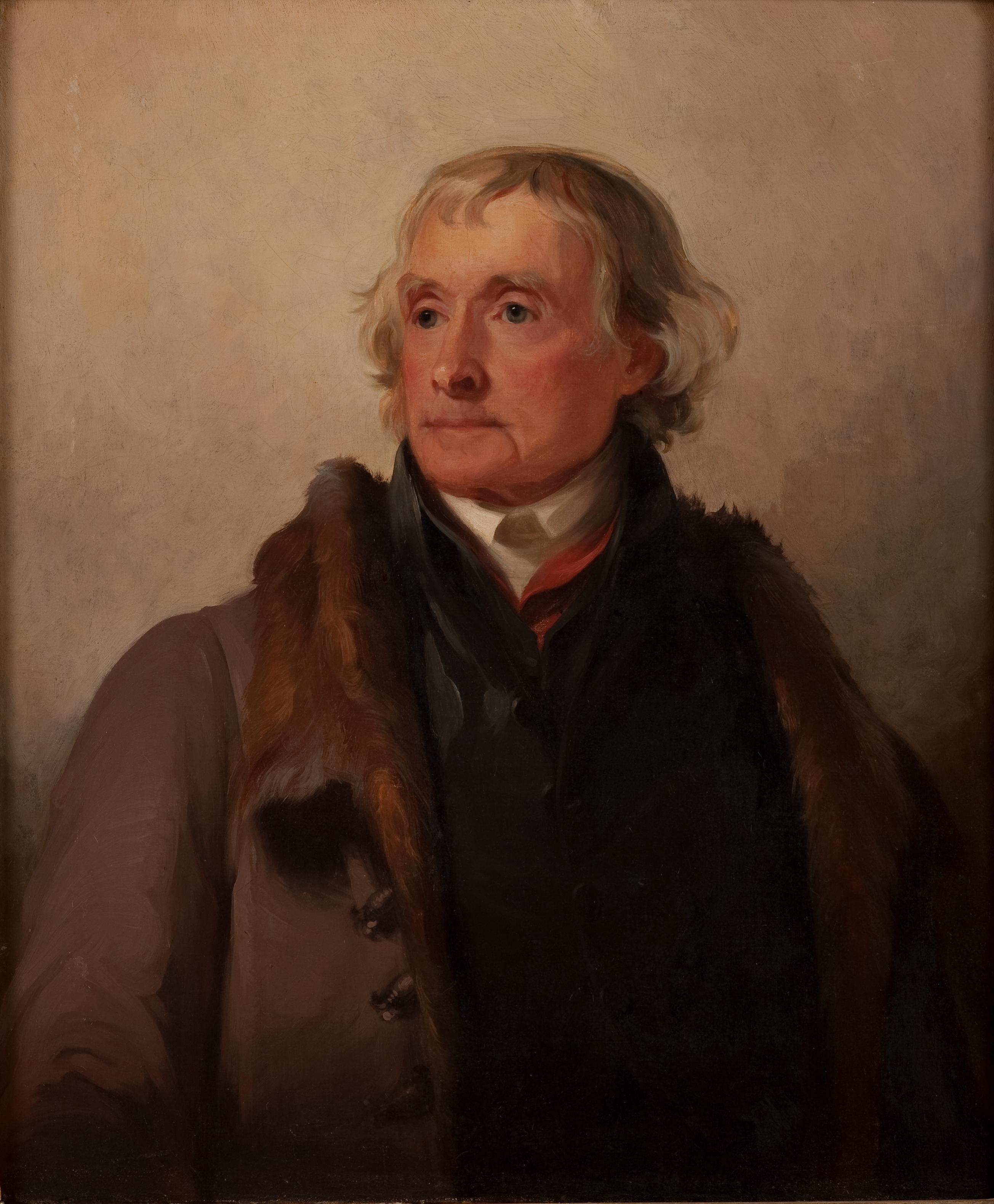 A Final Image The Thomas Sully Portrait Of Thomas Jefferson