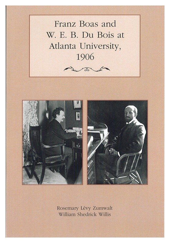 cover of Franz Boas and W.E.B. Du Bois at Atlanta University