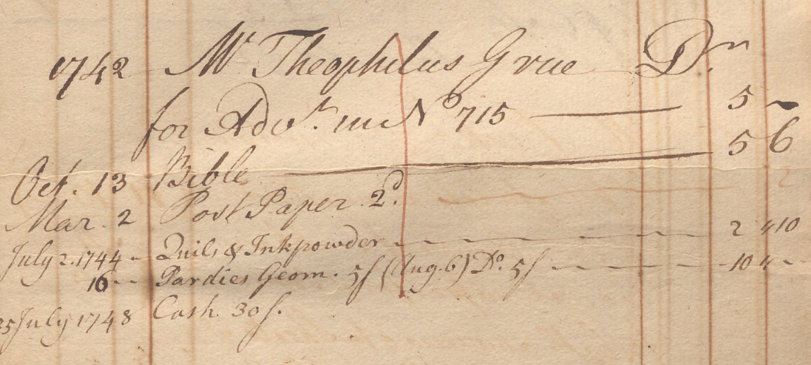 account book image