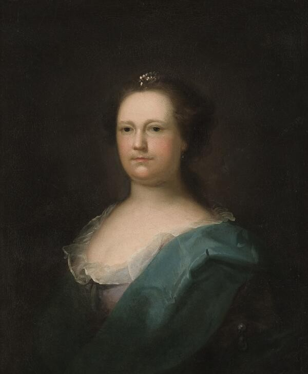 Portrait of Deborah Read Franklin