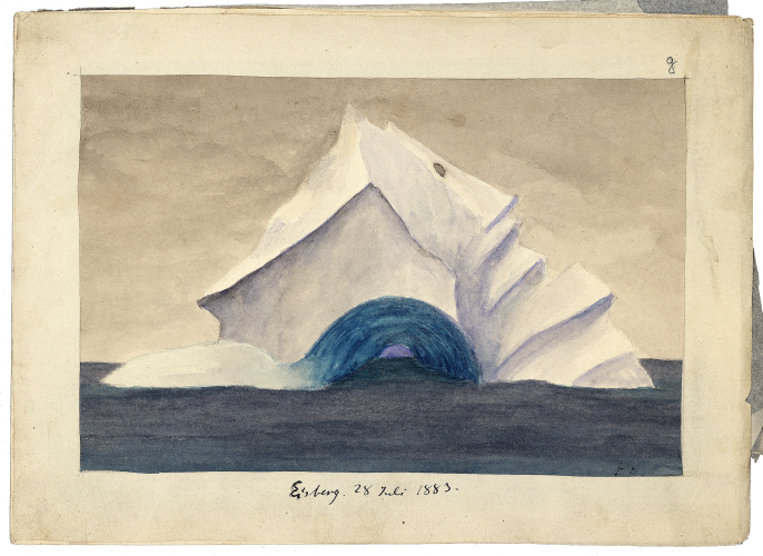 Arctic Ice, by Franz Boas