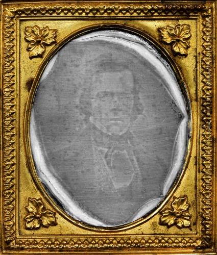 Daguerreotype of Paul Beck Goddard