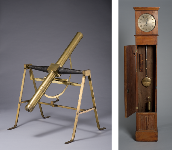 Telescope and clock