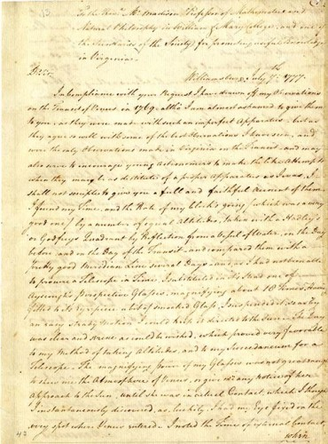 manuscript document page one
