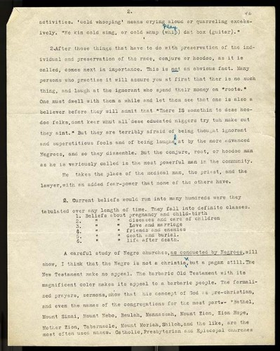 black typewritten text on paper - The Florida Expedition p 2