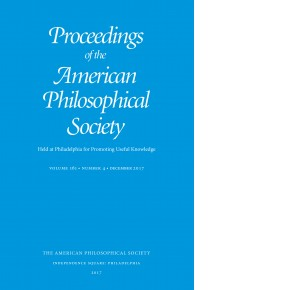 Proceedings Volume 161: Number 4 Cover