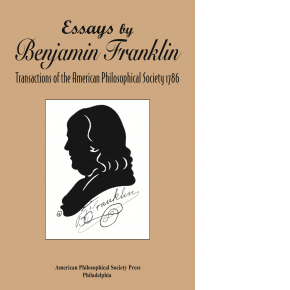 book cover with franklin silhouette