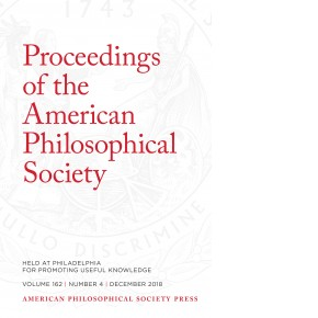 Proceedings Volume 162: Number 4 Cover