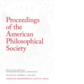 Proceedings Volume 163: Number 2 Cover