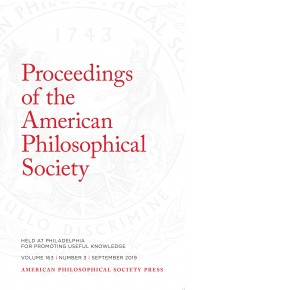 Proceedings Volume 163: Number 3 Cover